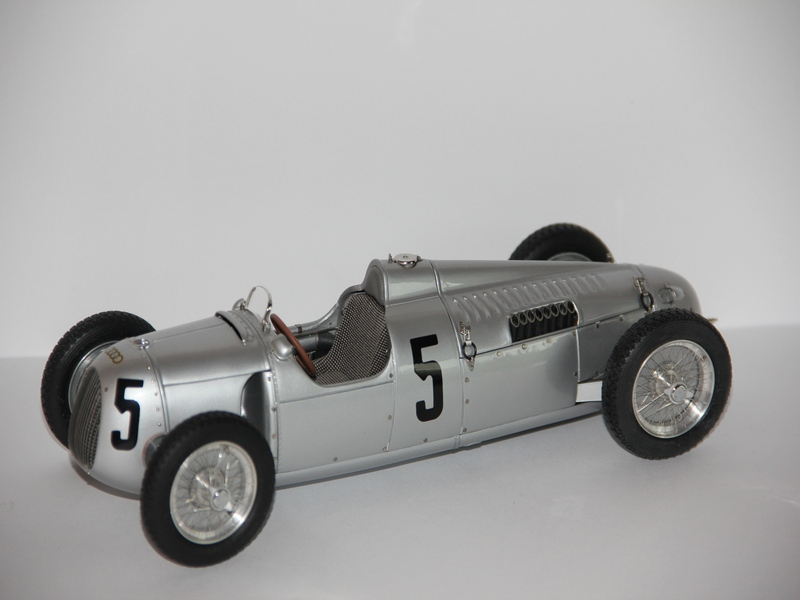 AUTO UNION TYP C #5 1936-1937 (LIMIT 1000 KS)