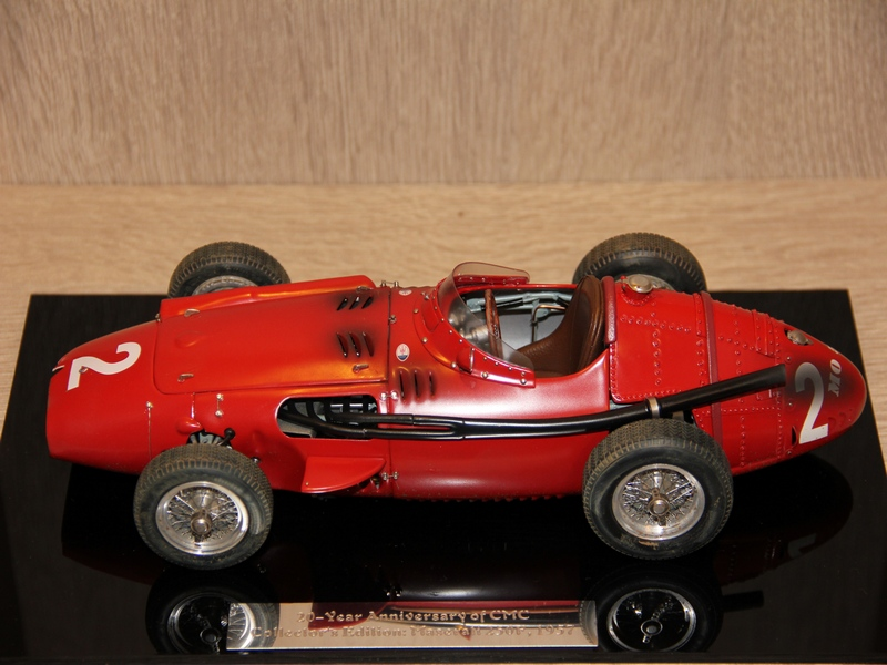 MASERATI 250F No.2 GP FRANCIE DIRTY HERO 20th ANNIVERSARY 1957 (LIMIT 1000 KS)