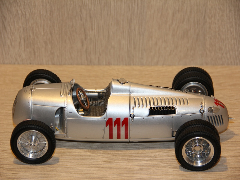 AUTO UNION TYP C BERGRENNER No.111 ´´STUCK´´ 1937 (LIMIT 1500 KS)