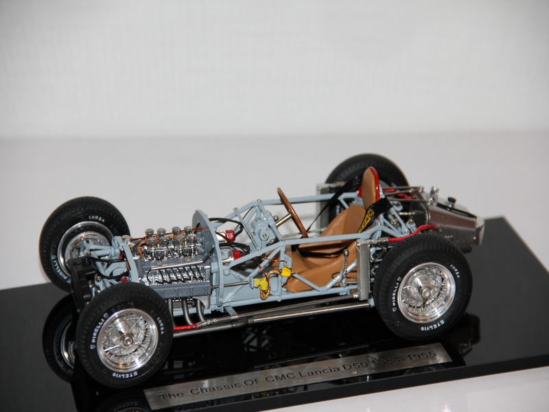 LANCIA D50 ROLLING CHASSIS 1954 (LIMIT 1000 KS)