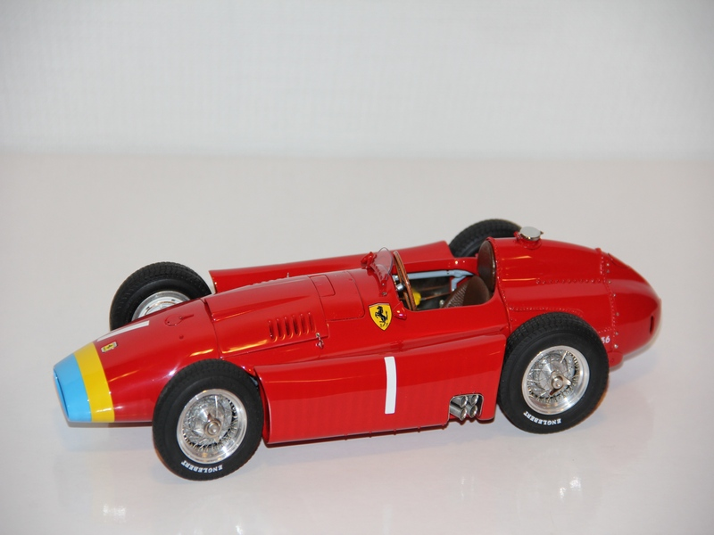 FERRARI D50 LONG NOSE GP NĚMECKO No.1 ,,FANGIO´´ 1956 (LIMIT 1500 KS)