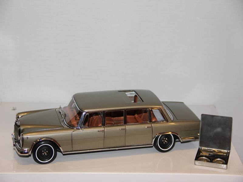 MERCEDES-BENZ (W100) 6-door PULLMAN 1963